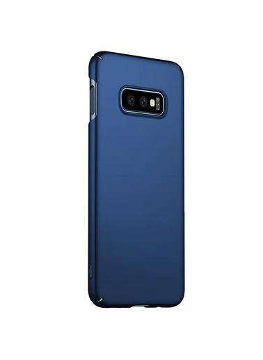 Microsonic Samsung Galaxy S10e Kılıf Premium Slim Lacivert Lacivert